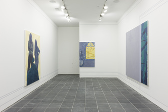 George Rush 2014 Paintings and wall drawing