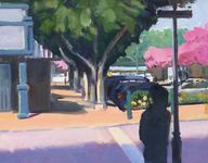 GEORGE TAPLEY (home)          Urban Scenes oil on panel
