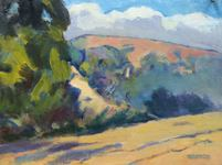 GEORGE TAPLEY (home)          Clark Park & Coyote Hills oil/panel