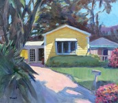 GEORGE TAPLEY (home)          Laguna Beach & Crystal Cove 0iil/canvas