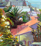 GEORGE TAPLEY (home)          Laguna Beach & Crystal Cove oil/ canvas