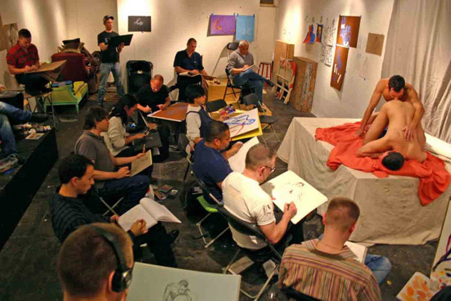 "- ""Erotic Life Drawings/Misc. Erotic Work"" - <i>Warning: Adult Content, please be 18 to view</i> Erotic Life Drawing Group Photo"