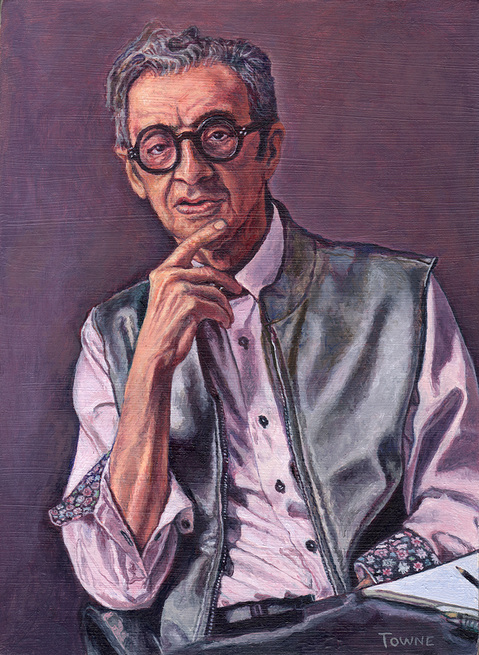 "- Main Artwork / Recent Paintings ""Portrait of Robert W. Richards"""