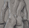 "- ""Erotic Life Drawings/Misc. Erotic Work"" - <i>Warning: Adult Content, please be 18 to view</i> Colored Pencil on Toned Paper"