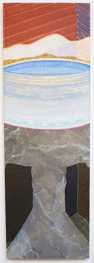 GEORGIA ELROD 2015 / 2016 acrylic, oil and pastel on linen