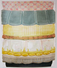 GEORGIA ELROD 2010-2012 oil and pastel on paper