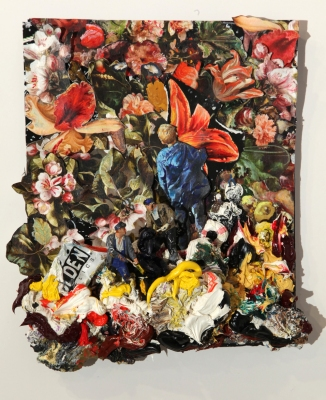 Gerry Bergstein Recent Mixed Media Work mixed media assemblage