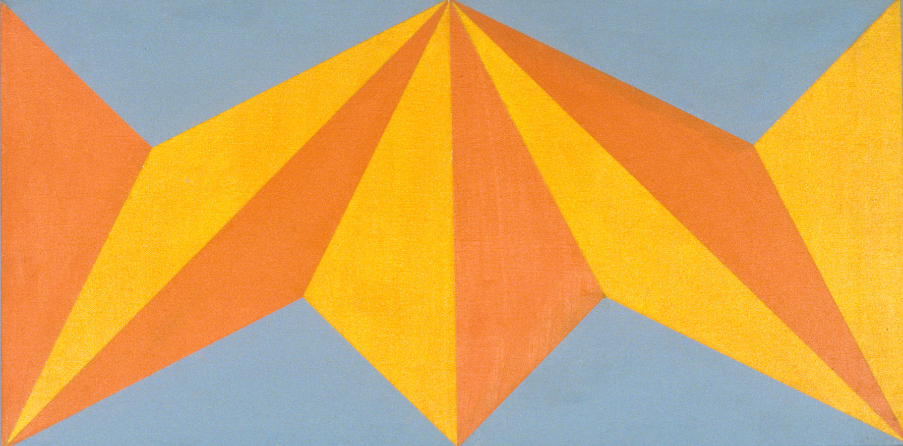 Paintings Untitled Orange and Yellow Rectangle