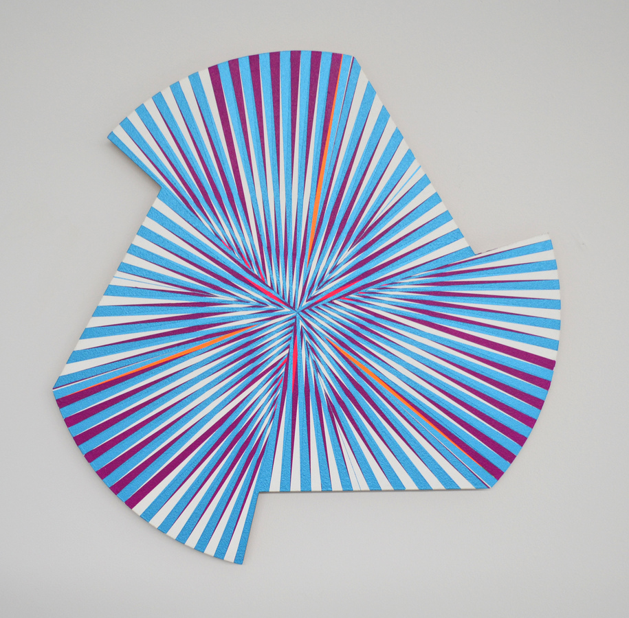 Paintings Blue Spin