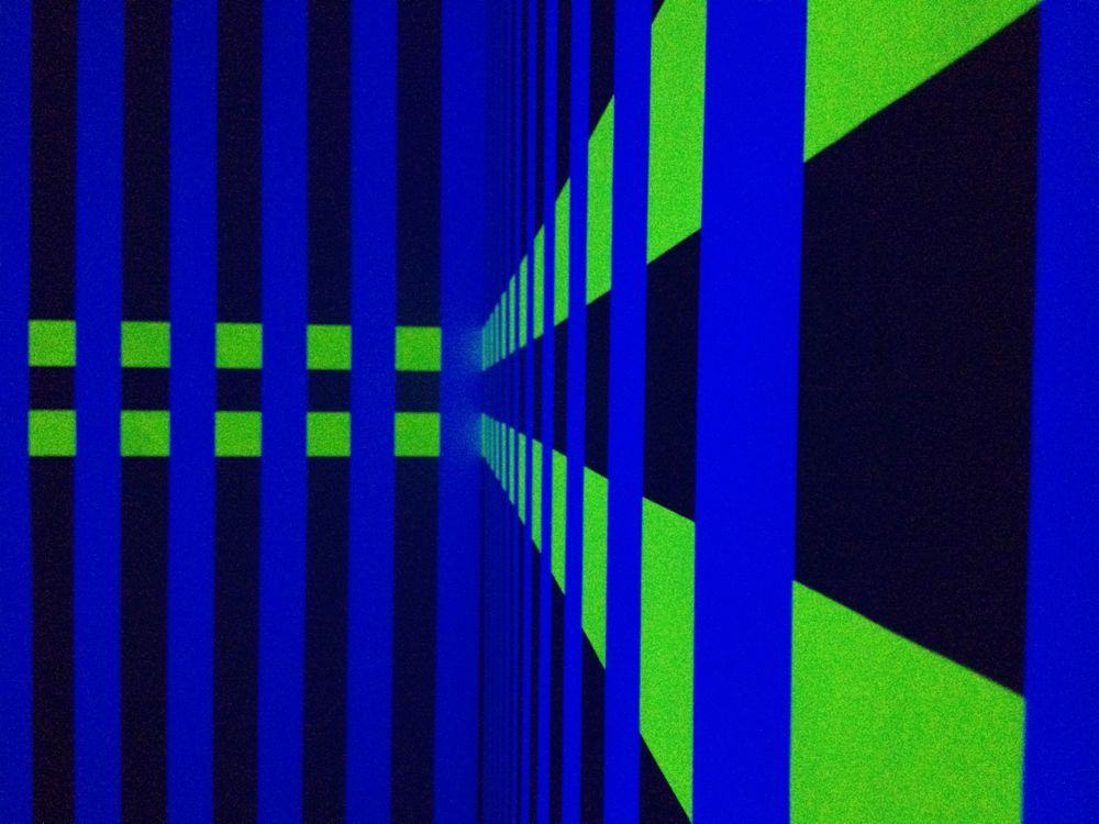 Wall Paintings Light Noise III