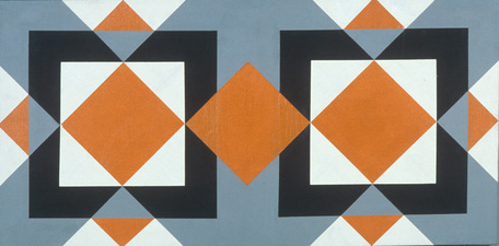 Untitled Black and Orange Rectangle