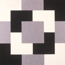 Four Black Squares and Four White Squares