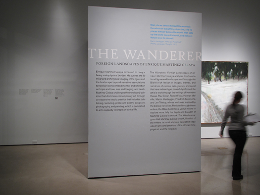 • MUSEUMS + GALLERIES The Wanderer: Foreign Landscapes of Enrique Martinez Celaya