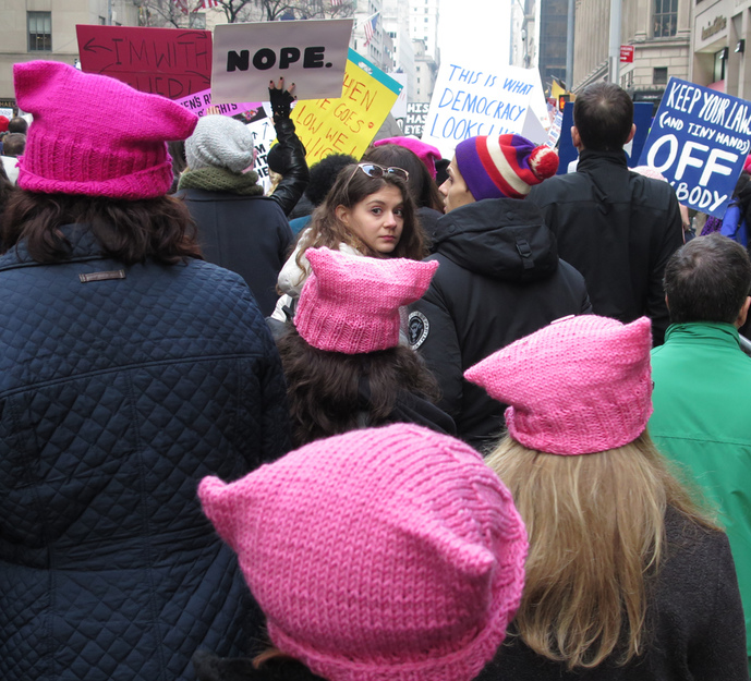 • PEOPLE: RALLIES + SPACES Women's March NYC