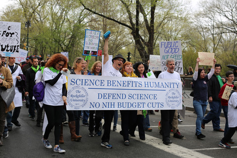 Gina Randazzo March for Science NYC Earth Day 4/22/17