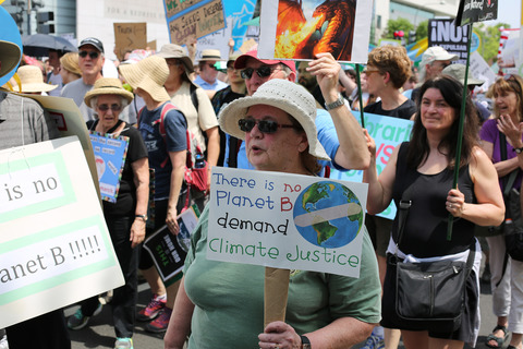 Gina Randazzo People's Climate March Washington DC 4/29/17