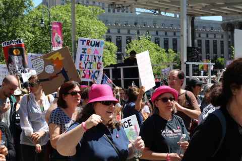 Gina Randazzo March for Truth NYC 6/3/17