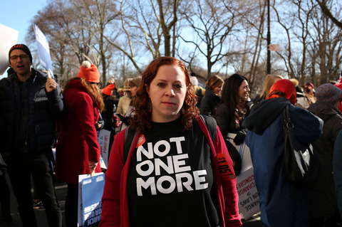 Gina Randazzo March For Our Lives NYC 3/24/18