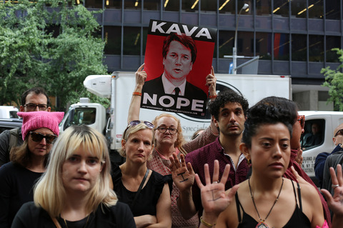 Gina Randazzo Other Kavanaugh Protests