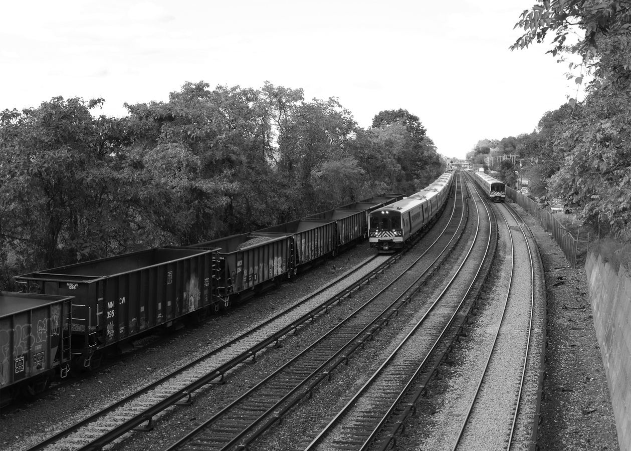 Portfolio Hudson Line, Departing Hastings #3