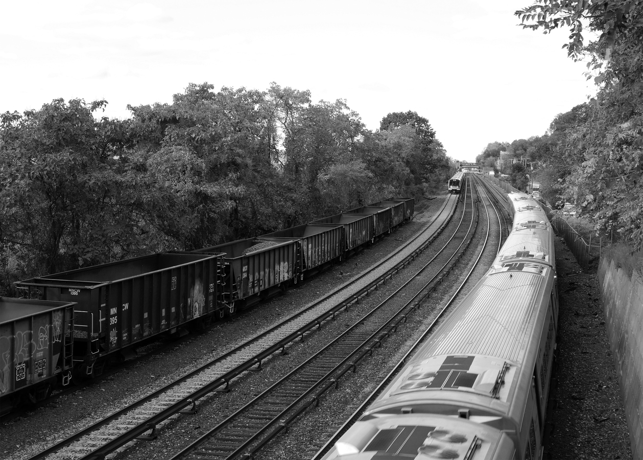Portfolio Hudson Line, Departing Hastings #2