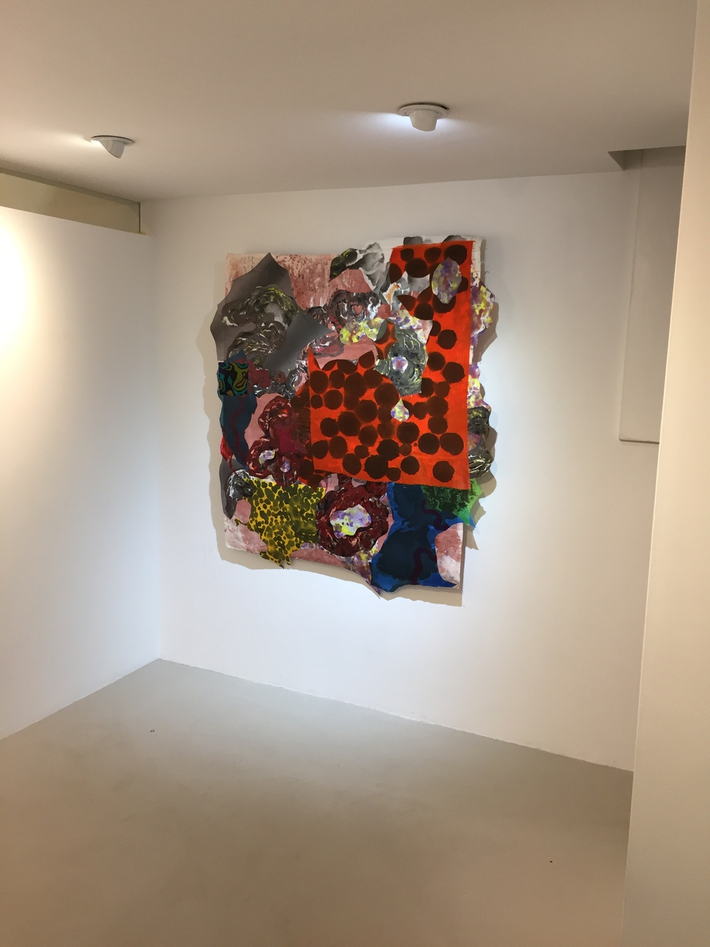 Gina Ruggeri Nancy Margolis Gallery 2017