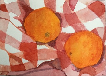 Ginna Triplett 2011-2015 watercolor on paper