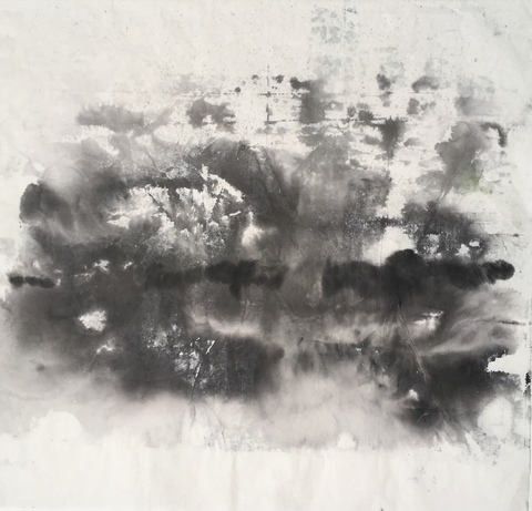 GINNY ZANGER MADE IN CHINA: monotypes Sumi Ink on Rice Paper