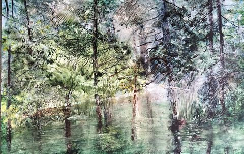 GINNY ZANGER Paintings Watercolor