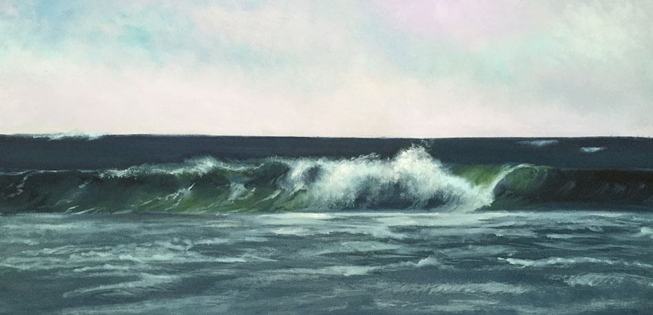 DANA GOODFELLOW WAVE ACTION OIL