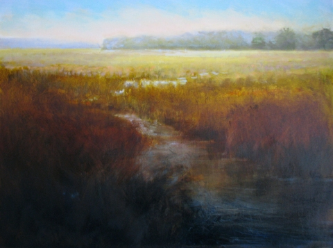 DANA GOODFELLOW  LANDCAPES OIL ON LINEN