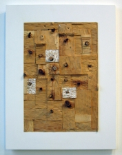 Gordon Powell Past Work Pine, mdf and gesso