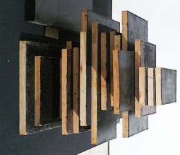 gregg salisbury sculpture oil, gesso on wood panels