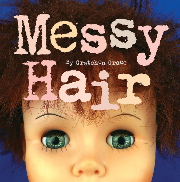 Messy Hair Printed Book, edition of 500