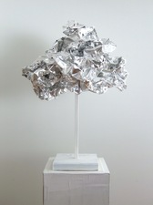 Guy Romagna sculpture 2018 38 gauge aluminum foil