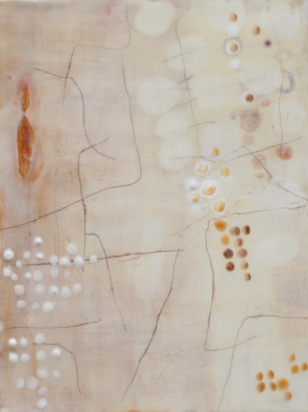 Locating Beauty Gallery Mixed media Encaustic