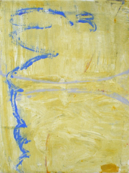 Flight of Fancy  Oil and cold wax on paper (monotype)