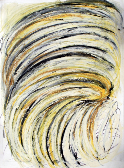 Work on paper-Dry media Collections_Swirl