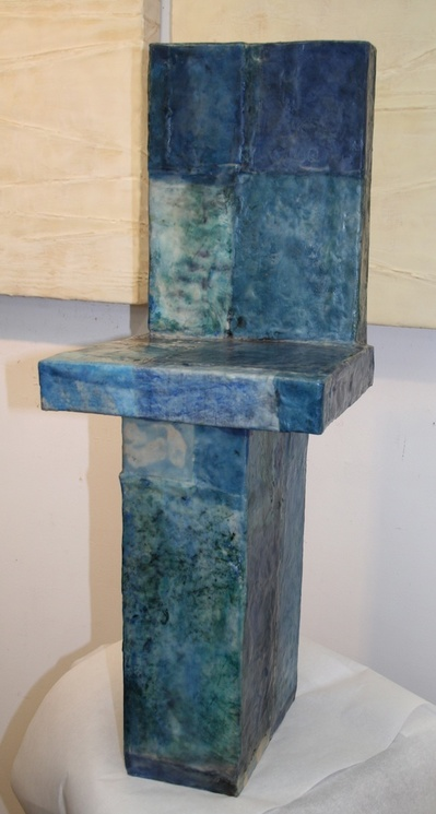 Dimensional Works Plein Air - Blue Chair