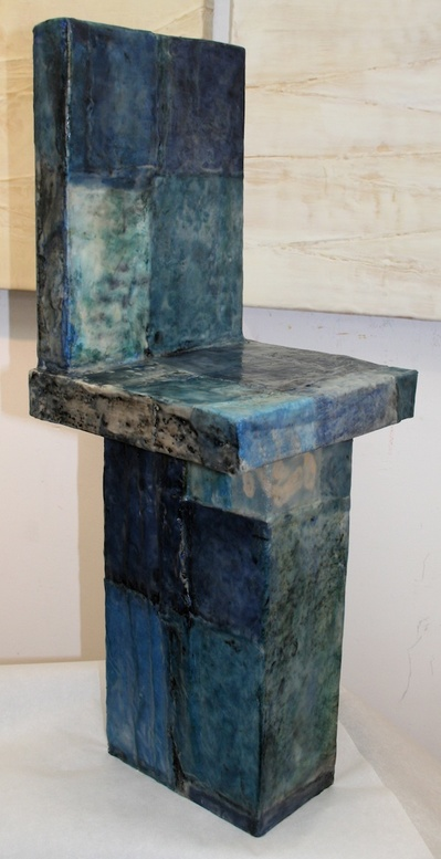 Dimensional Works Plein Air - Blue Chair (Right side)