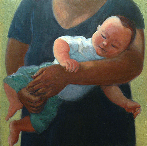 Gwyneth Leech Perfect Families: 2006-2010 Oil on canvas