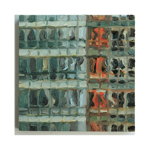 Gwyneth Leech Reflected City: 2011-2015 Oil on wood panel