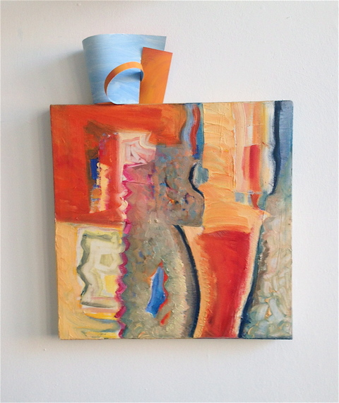 Gwyneth Leech Groups Oil on canvas and oil on primed paper coffee cup