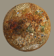 Harry Powers Origins Stone, smalti, shell mosaic