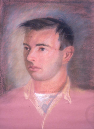 Harry Powers Early Work Pastel