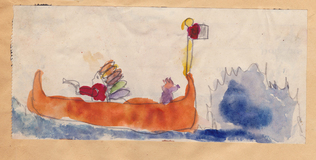 Harry Powers Early Work Water Color