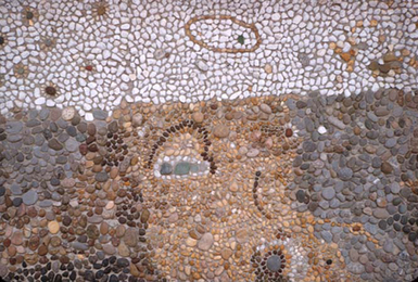 Harry Powers Earthscape Pebble Mosaic