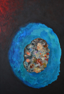 Harry Powers Cosmology Acrylic on canvas
