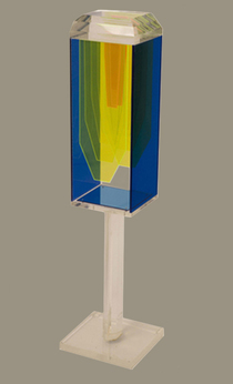 Harry Powers     Paintings and Sculpture Pure Light Constructed Acrylic Sheet