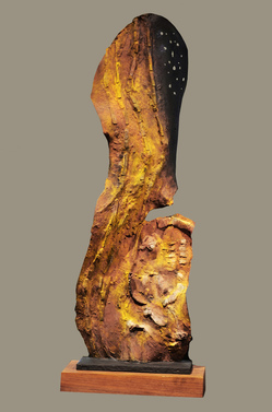 Harry Powers Cosmology Cast Bronze, patinated